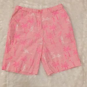Womans Lilly Pulitzer Size 6 Bermuda Style Shorts
